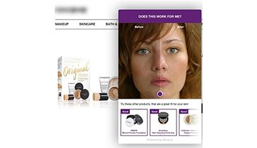 Product recommendation engine for beauty brands & retailers